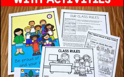 Editable Classroom Rules   Classroom Rules Activities   Class Rules