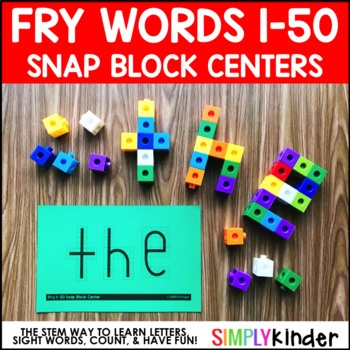 Snap Block Center – Fry Words 1-50