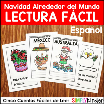 Spanish Christmas Around the World Books for Little Learners