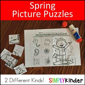 Spring Picture Puzzles