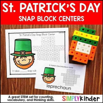 St. Patrick's Day Kindergarten – Snap Block Center