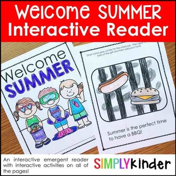 Summer Activities – Welcome Summer Seasons Book
