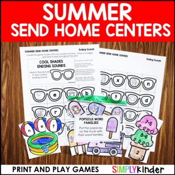 Summer Send Home Centers