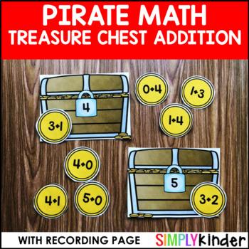 Treasure Chest Addition Center – Pirate Math
