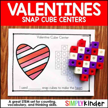 Valentines Day Math – Snap Block Centers