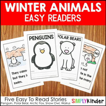 Winter Animals Easy Readers