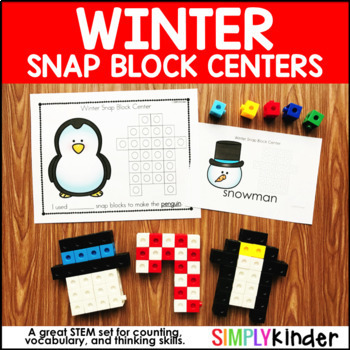 Winter Snap Block Centers