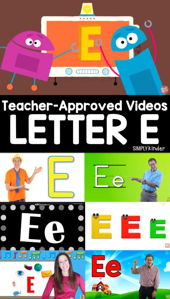 Teacher-Approved Videos Letter E
