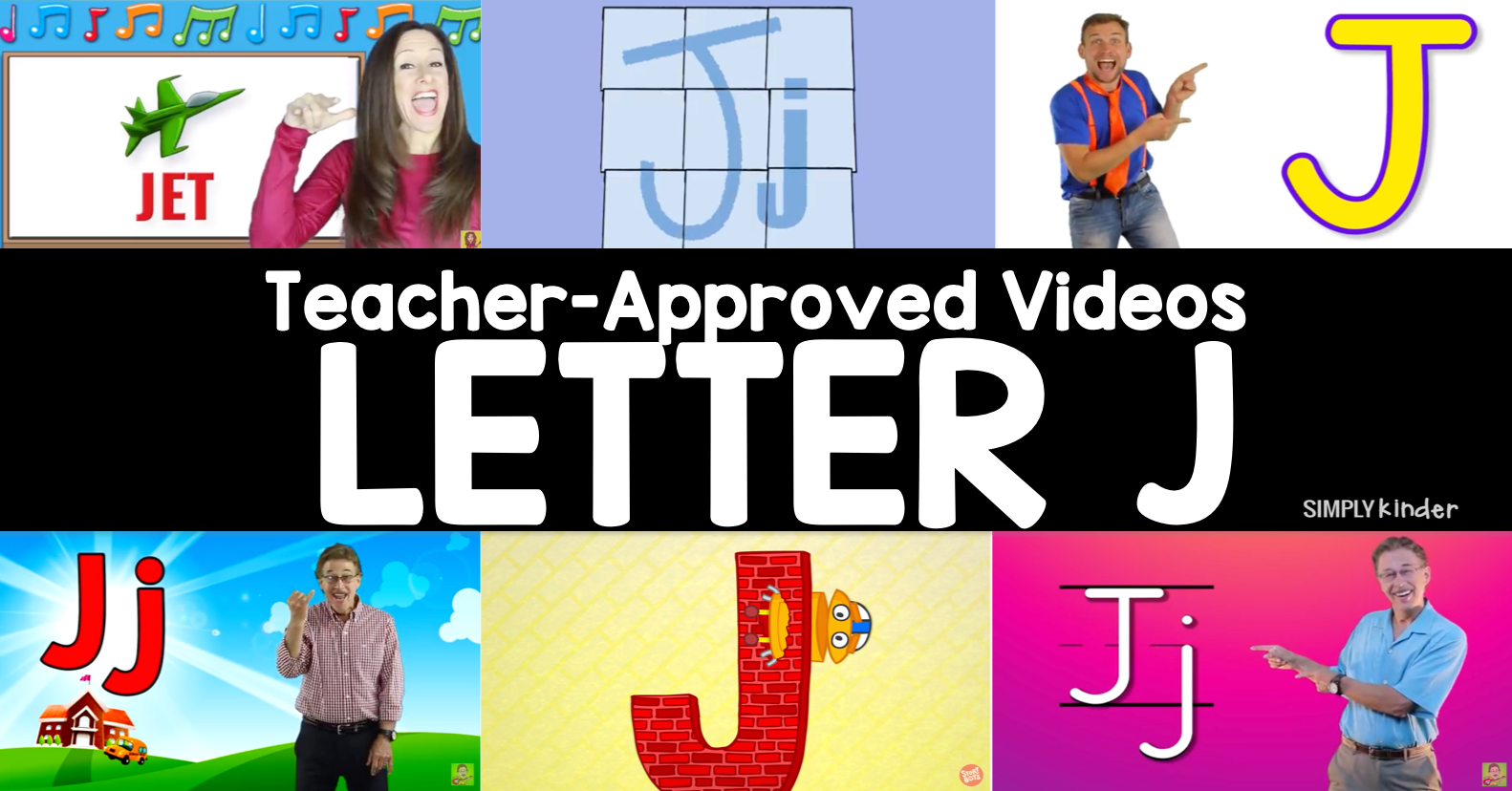 Teacher-Approved Videos Letter J