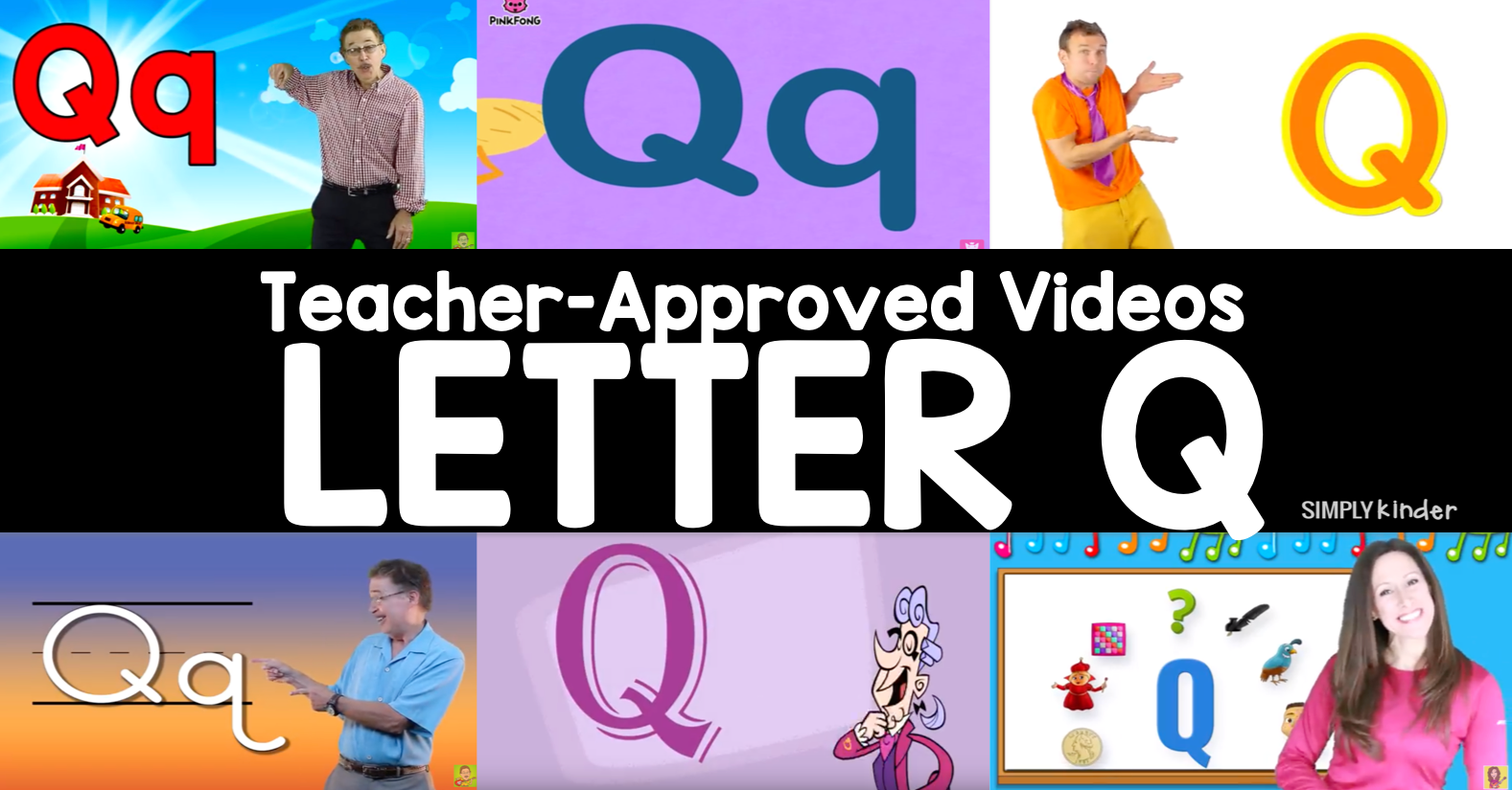 Teacher-Approved Videos Letter Q