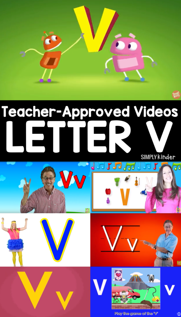 Teacher-Approved Videos Letter V