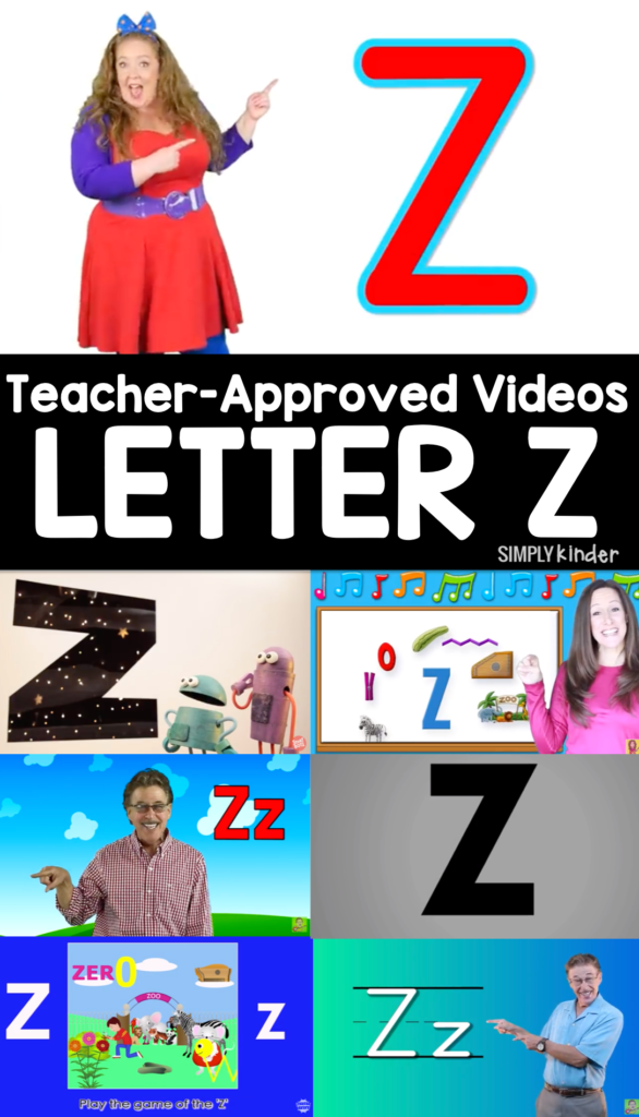 Teacher-Approved Videos Letter Z