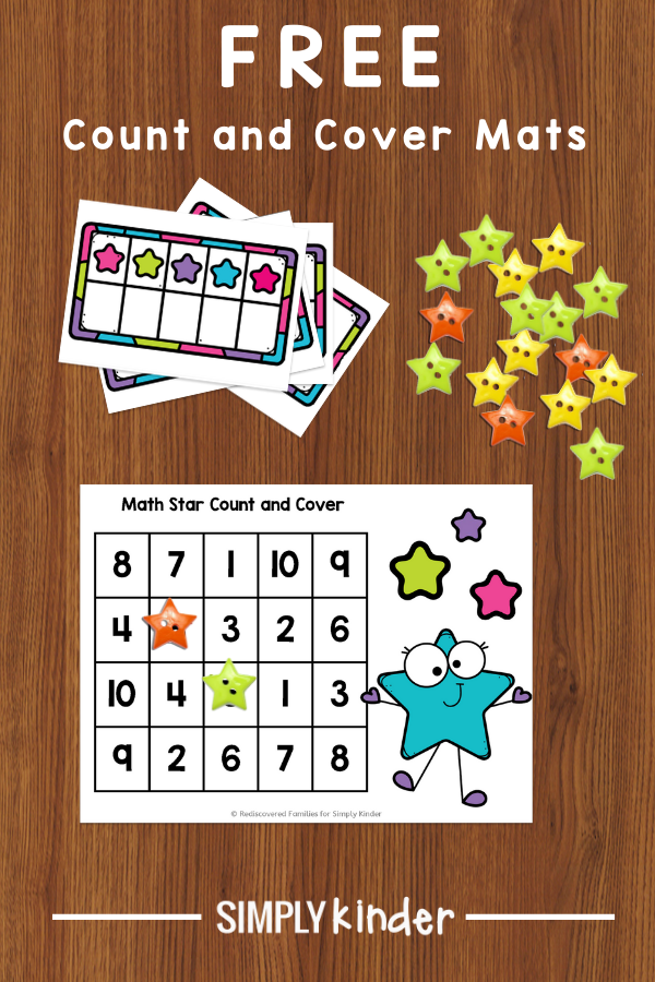 counting activity for Kindergarten
