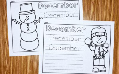 December Learn to Write