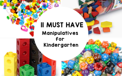 11 Must Have Manipulatives for Teaching