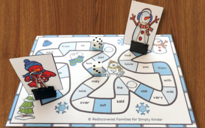 Free Winter Sight Word Game to Make Learning Fun
