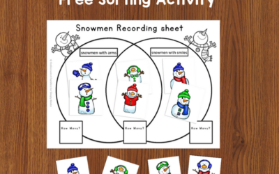 Venn Diagrams For Kids: A Fun Sorting Activity