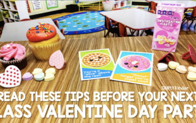 Valentine Party Tips for Kindergarten Teachers