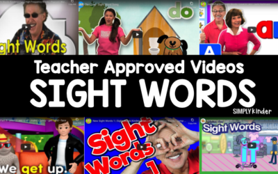 19 Kindergarten Videos That Practice Sight Words