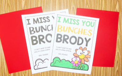 I Miss You Bunches Free Printable