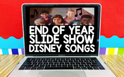 Disney End of Year Slide Show Songs
