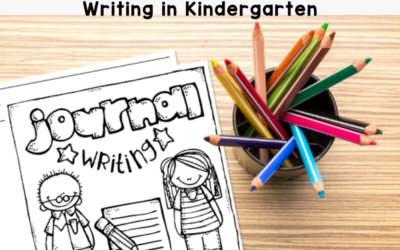 Journal Writing in Kindergarten: Tips and Tricks