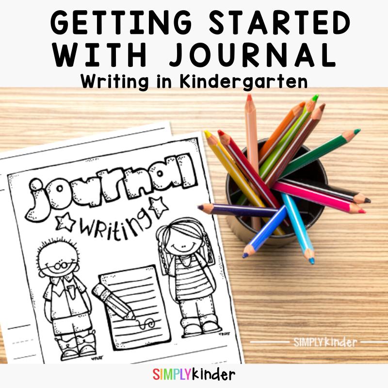 journal writing in Kindergarten