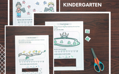 Math Word Problems For Kinders to Tackle